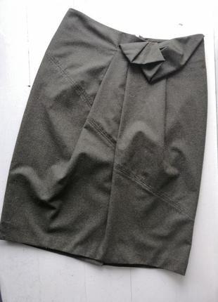 Max mara шерстяная юбка
