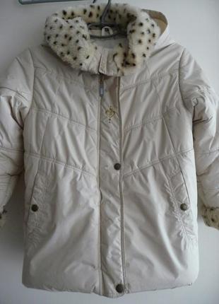 Куртка зимняя с шапкой