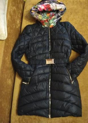 Пуховик lusskiri на тинсулейте красивый и теплый зима