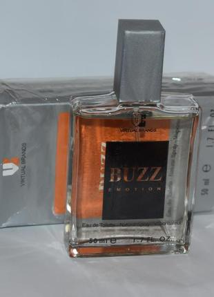 Buzz emotion virtual brands eau de toilette 50 ml оригинал с коробкой