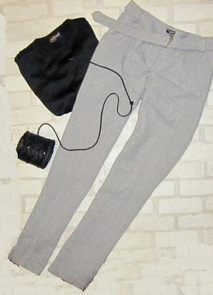 Обалденные теплые брюки-кюлоты,пояс