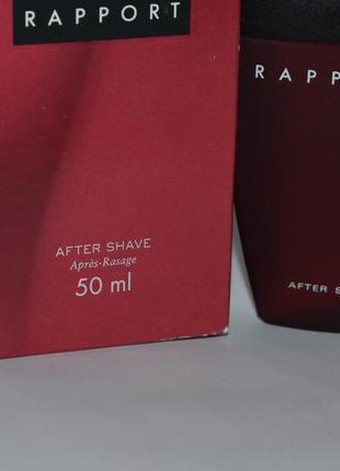 Rapport shulton одеколон after shave 50 ml оригинал с коробкой винтаж