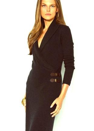 Эффектное вязаное платье футляр ralph lauren ральф лорен, бренд, оригинал