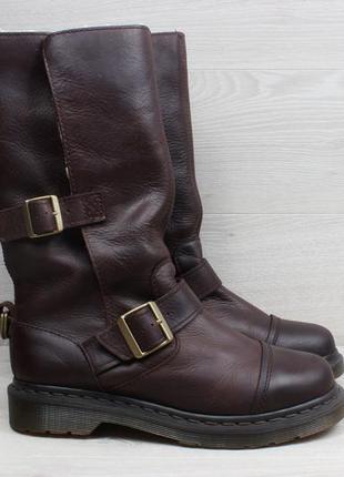 Кожаные женские ботинки dr.martens оригинал, размер 39 (сапоги)
