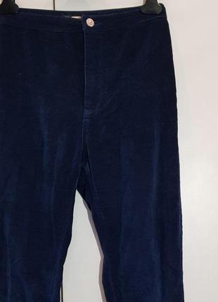 Бархатные штаны pull&bear