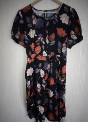 Вискозное платье 52 размера