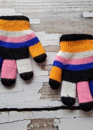 Прикольные перчатки на 1-2 года