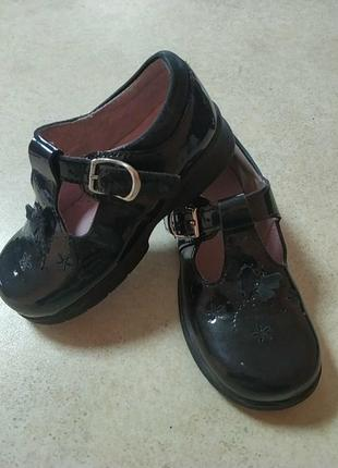 Кожаные туфельки start rite англия