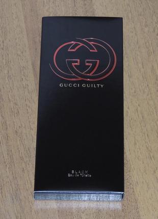 Gucci guilty black pour femme 7,4 мл миниатюра для женщин оригинал