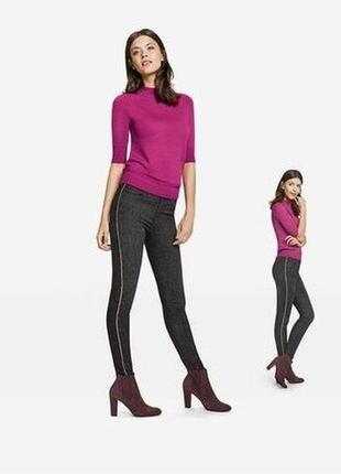 Шикарные джинсы super skinny с лампасами esmara германия, коллекция heidi klum