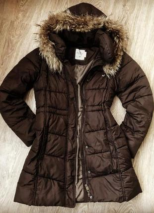Пальто куртка зима h&m ріст 164 13-14 р