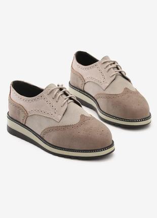 Полуботинки оксфорды туфли