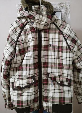 Куртка зимняя спорт