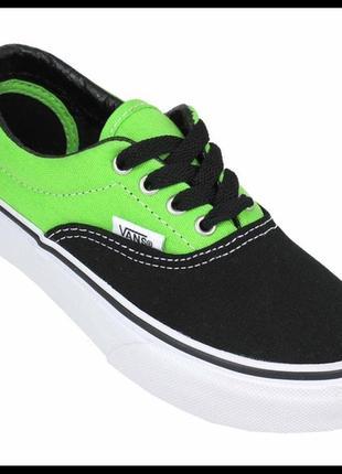 Vans ярко-зеленые новые кеды оригинал