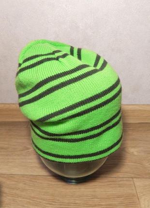 Новая двусторонняя теплая шапка на ог 57-60 см. сток
