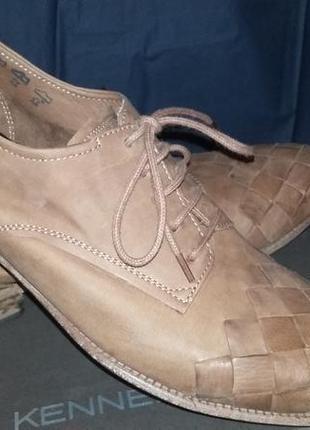 Стильные женские кожаные туфли немецкой компании kennel&schmenger 38 размер (5)