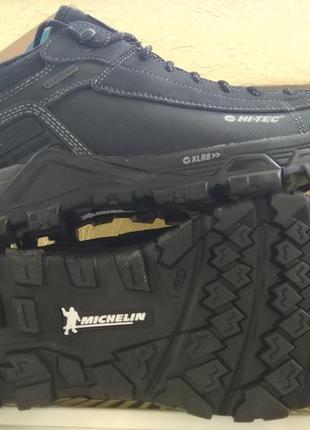 Зимние водонепроницаемые ботинки кроссовки men's trail ox low boot hi-tec оригинал! -15%
