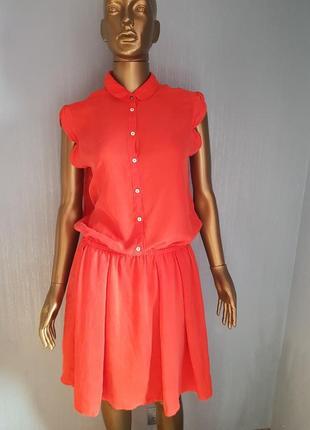 Hugo boss шёлковое платье