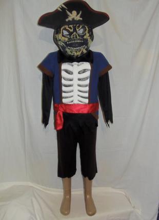 Костюм пирата на 5-7 лет с маской
