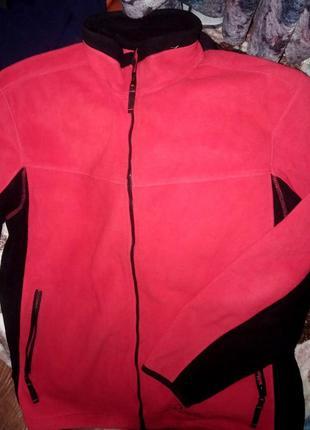 Демисезонная флисовая куртка