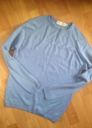 Мягкий шерстяной свитер ewm wollmark