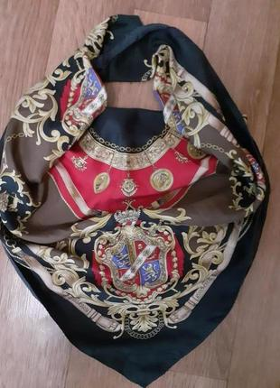 Красивый шелковый платок 100% шелк betty barclay /85*87 см