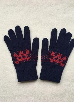 Демисезонные осенние весенние трикотажные перчатки john lewis