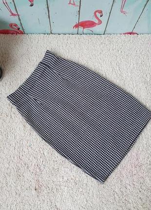 Плотная фирменная юбка осень-зима