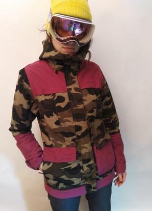 Сноубордическая куртка billabong мембрана 10к/10к (686 nike sb burton )