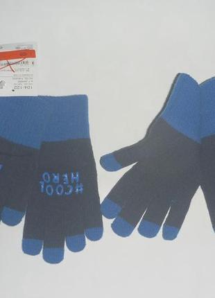 Перчатки мальчику 8-12лет c&a германия