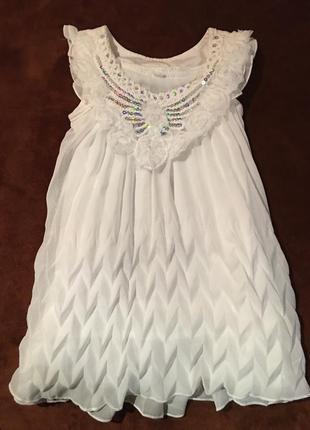 Платье плиссе