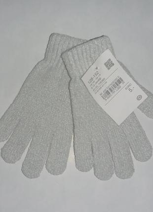 Перчатки велюр 8-12лет c&a германия