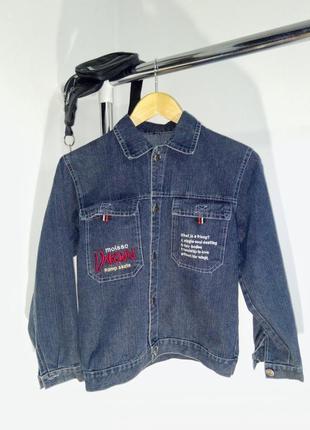 Джинсовая куртка. джинсовка feng hong