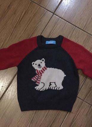Катоновый свитер, свитерок, свитшот, кофта, кофточка
