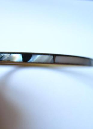 Вінтажний браслет з перламутром винтаж