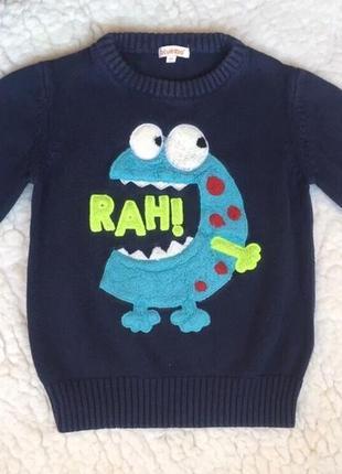 Катоновый свитер , кофта, кофточка, свитерок, свитшот.