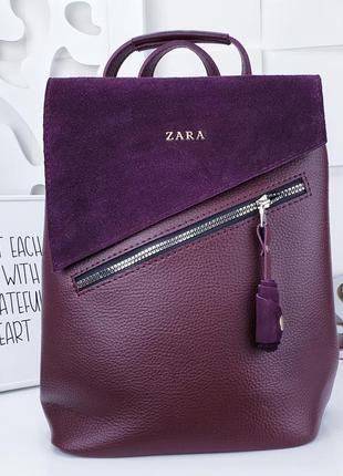 Сумка рюкзак замш еко кожа есть цвета