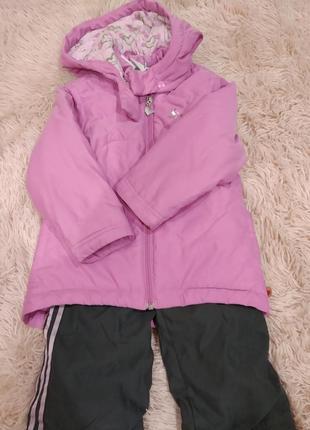 Комплект куртка и брюки демисезон теплая зима