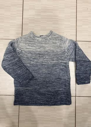 Тёплый вязаный свитер next