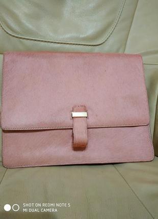 Фирменная сумка чехол на планшет whistles. кожа.новый