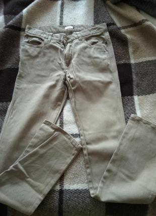 Бежеві джинси
