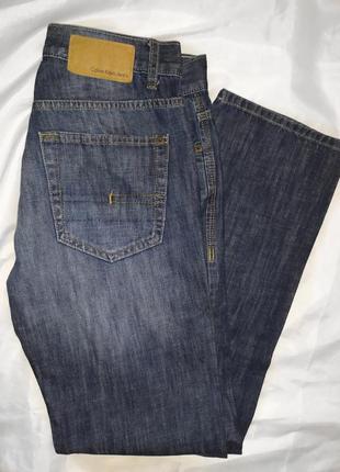 Calvin klein джинсы размер s 100% cotton
