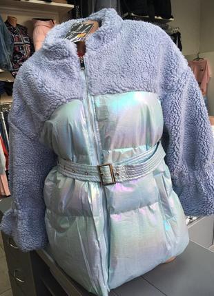 Стильна курточка-пальто