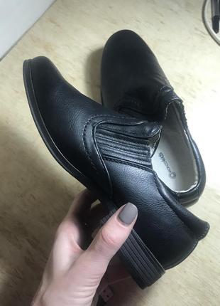 Туфли кожаные ronzokids