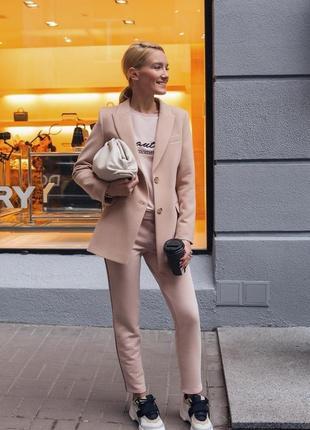 Брендовые дизайнерские брюки с лампасами  marsego