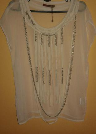 Нарядная новая  блуза от saint tropez,p.s-m