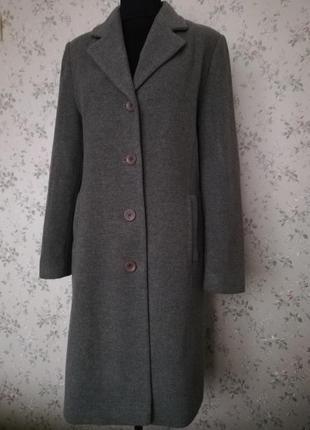Ідеальне класичне пальто, тепле шерсть+кашемір poem