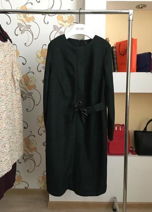 Нарядно-повседневное платье , букле , рогожка , на запах