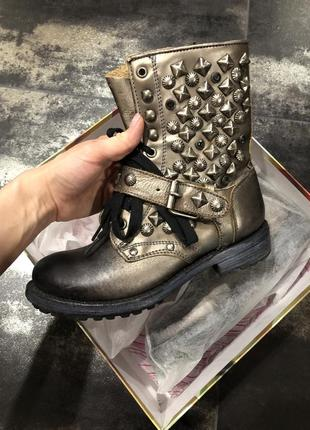 Сапоги , грубые ботинки ash кожа