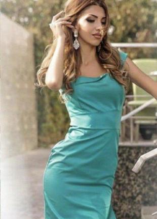 Элегантные бирюзовые платьица на стройняшек или девочек подростков. распродажа  sale
